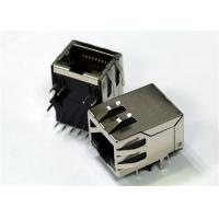 Quality Con Rj45 POE+ Mag 1x1 R/A Shielded W/LED 700mA Eah Pair 10/100Base-Tx for sale