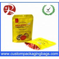 Wholesale Moisture proof Zipper Plastic Stand Up Bag For Tea Package With Side Gusset from china suppliers