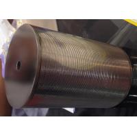 Wholesale SS Johnson Wedge Wire Screen Cylinder Filter Elements For Liquid / Solid Separation from china suppliers