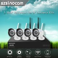 Wholesale 2.4GHZ Full WIFI Nvr Ip Camera Kit Easy Installtion Safty Security from china suppliers
