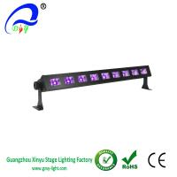 Buy cheap Black Light Bar with 9x3W UV LED Bar in Metal Housing for party from wholesalers