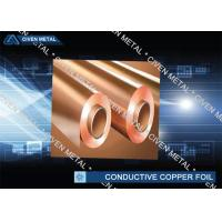 Wholesale RA Red Rolled Conductive Copper Foil For FPC , Decorative Copper Foil from china suppliers