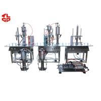 Wholesale Polystyrene PU Foam Filling Machine , Pneumatic Aerosol Can Filling Machine from china suppliers
