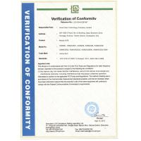 Auras Sam Technology Co.,Limited Certifications
