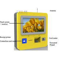 Wholesale Self Recharge Wall Mounted Kiosk , DIP Card Reader 3G Wireless Telecom Terminal from china suppliers