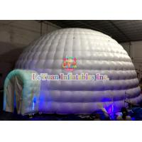 Wholesale Giant UV Inflatable Dome Tent / CE14960 Air Dome Structures With LED Lightnings from china suppliers