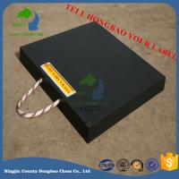 Quality Heavy Duty Easy Carring UHMWPE Crane Outrigger Pad Stabiliser Plate Jack Mats for sale