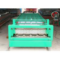 Wholesale Steel Tile Roof And Wall Panal Double Layer Roll Forming Machine 15m/Min from china suppliers