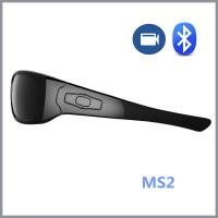 Wholesale Mini Spy Camera Glasses Eyewear With Hi-Fi High Stereo Earphone / Hidden Camera Eyeglasses from china suppliers