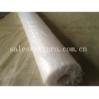 Wholesale FDA approved food grade rubber sheet roll support white / beige color. from china suppliers