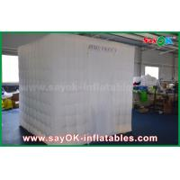 Quality Green Background Inflatable Photo Booth 2.5 x 2.5 x 2.5m For Wedding / Event for sale