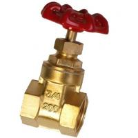 China Lightweight Forged Steel Valves / 2 4 Inch Brass Gate Valve Simple Structure on sale