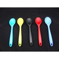 Wholesale Durable silicone kitchenware promotional heat - resistant Silicone table spoon from china suppliers