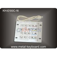 Wholesale Vandal Proof Stainless steel Kiosk Keypad with 16 Keys , USB Port from china suppliers