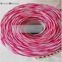 Wholesale Telephone Jumper Wires 0.5mm PVC Jacket Blue/Yellow Red/White Bare Copper/ Tinned Copper category 3 Jumper cables from china suppliers