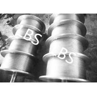 Wholesale High Performance Steel Wire Rope Drum , Fully Machined Lebus Grooved Drum from china suppliers