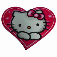 Wholesale Heart Sheap Eco-Friendly Eva Mouse Pad With Hello Kitty Printed from china suppliers