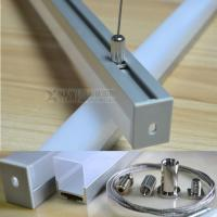 Wholesale 15mm width PCB strip light square aluminum profile suspended mounted Aluminum channel accessory for home lihgting from china suppliers