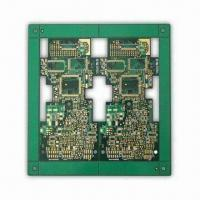 Buy cheap 6-layer PCB with 1.6mm Board Thickness, RoHS Marks, Samples Available from wholesalers