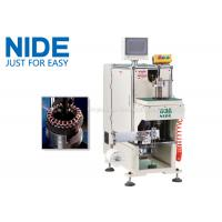 Wholesale NIDE stator coil lacing machine with CNC control design and HIM program from china suppliers