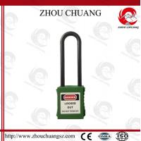 Wholesale Hot! Nylon Long Shackle ABS Material Safety Padlock Lockout from china suppliers