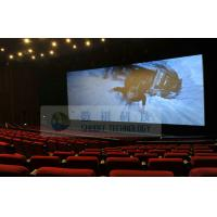 Wholesale Popular Mini 4D Motion Cinema Theater , bubble snow rain lighting wind Environmental effects from china suppliers