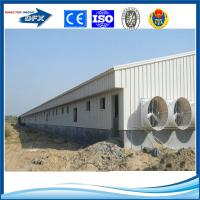 construction steel structure prefab large industrial chicken poultry farm