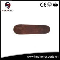 China Pro quality maple skateboard completes with double kick, customized printing on sale