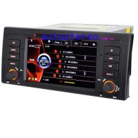 Wholesale BMW 5 series X5 E39 E53 M5 Radio Satnav DVD Player / Bluetooth Car GPS Stereo 7 Inch Touch Screen from china suppliers