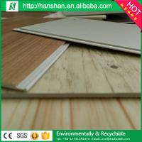 Wholesale wood look waterproof vinyl flooring 4mm/5mm/6mm wood pvc flooring plank from china suppliers