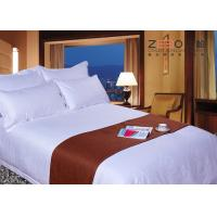 Wholesale Customized Size Hotel Collection White Comforter Set Soft 330TC from china suppliers
