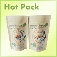 Wholesale 200g Coffee Scrub Packaging Bag Resealable Kraft Paper Pouch Foil Lined from china suppliers