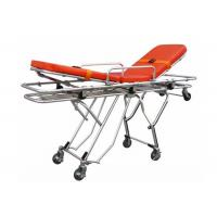 Wholesale Multifunctional Aluminum Alloy Automatic Stretcher Ambulance Stretcher Trolley ALS-S015 from china suppliers