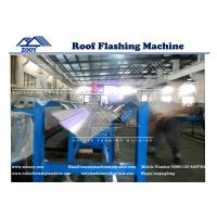 Wholesale Roof Flashing Panel Roll Forming Machine For 0.3mm - 0.8mm Thickness PPGI Corlor steel from china suppliers