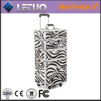 Wholesale the Urbanity Classic Zebra Beauty Trolley professional makeup trolley case from china suppliers