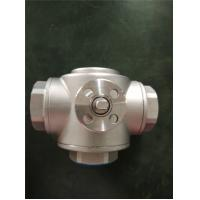Buy cheap HVAC Use 2 Way And 3 Way Female Gas Ball Valve , Mini Brass Ball Valve from wholesalers