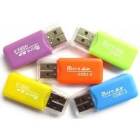 Wholesale Bulk Promotion Portable Card Reader USB 2.0 3.0 Plastic Material For Smartphone from china suppliers