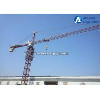 Wholesale Construction Site External Climbing Tower Crane , Hydraulic Luffing Jib Tower Crane from china suppliers