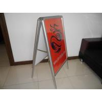 Wholesale A frame  double side Metal Display with 3.2cm aluminum frame from china suppliers