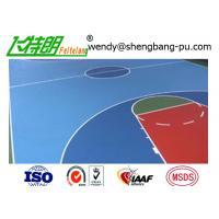 Wholesale High Performance Tennis Sport Court Surface , Athletic surface sports court flooring from china suppliers