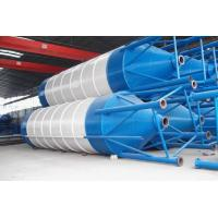 China 100ton assembly cement silo for batching plant on sale