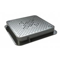 Buy cheap Casting En124 A15 B125 C250 D400 Ductile Iron Manhole Cover Frame Heavy Duty Frame Cover from wholesalers
