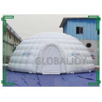 Buy cheap Outdoor giant luxury inflatable PVC dome /party dome tent for sale from wholesalers