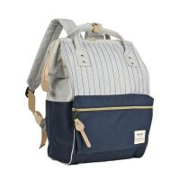 Buy cheap Striped Type Leisure Backpacks , Multi - Functional Baby Diaper Backpack from wholesalers