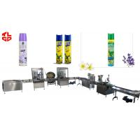Wholesale Stainless Steel Aerosol Filling Equipment For Air Freshener Spray Pneumatic Drive from china suppliers