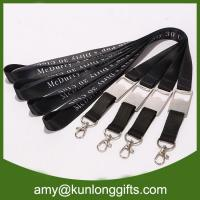 Wholesale New customized bottle opener lanyard with subliatiom printing from china suppliers