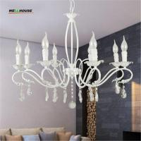 Wholesale Modern Iron Art Chandeliers Metal Painting 3/6/8 Arms Optional Luster Home Decoration lustre para sala E14 Free Shipping from china suppliers
