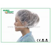 Quality PP Nonwoven Colorful Disposable Scrub Caps / Mens Surgical Caps for sale