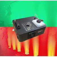 Wholesale 1500w LED Rgb Smoke Machine / Remote Control DMX Fogger Machine for Wedding from china suppliers