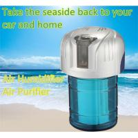 Quality Original Power-saving Silver Blue Eco-friendly Car Air Humidifiers with Smoke Dispelling for sale